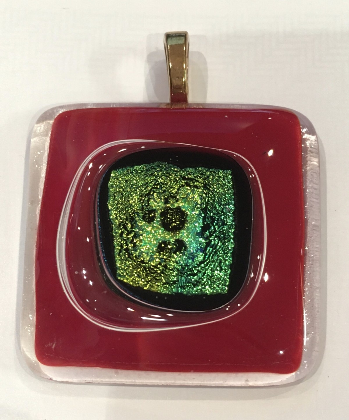 Stunning Glass Necklace Pendants by Pam Wallace at Henley Circle Online Shop