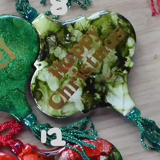 Light Green Happy Christmas