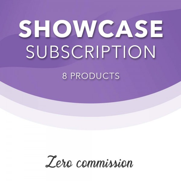 Showcase Listing 8 products monthly subscription at Henley Circle Online Shop