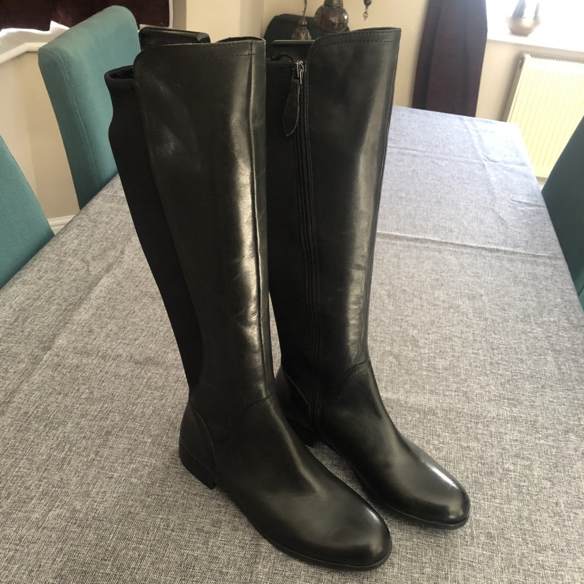 Franco Sarto as New Knee High Boots Size 4 at Henley Circle Online Shop